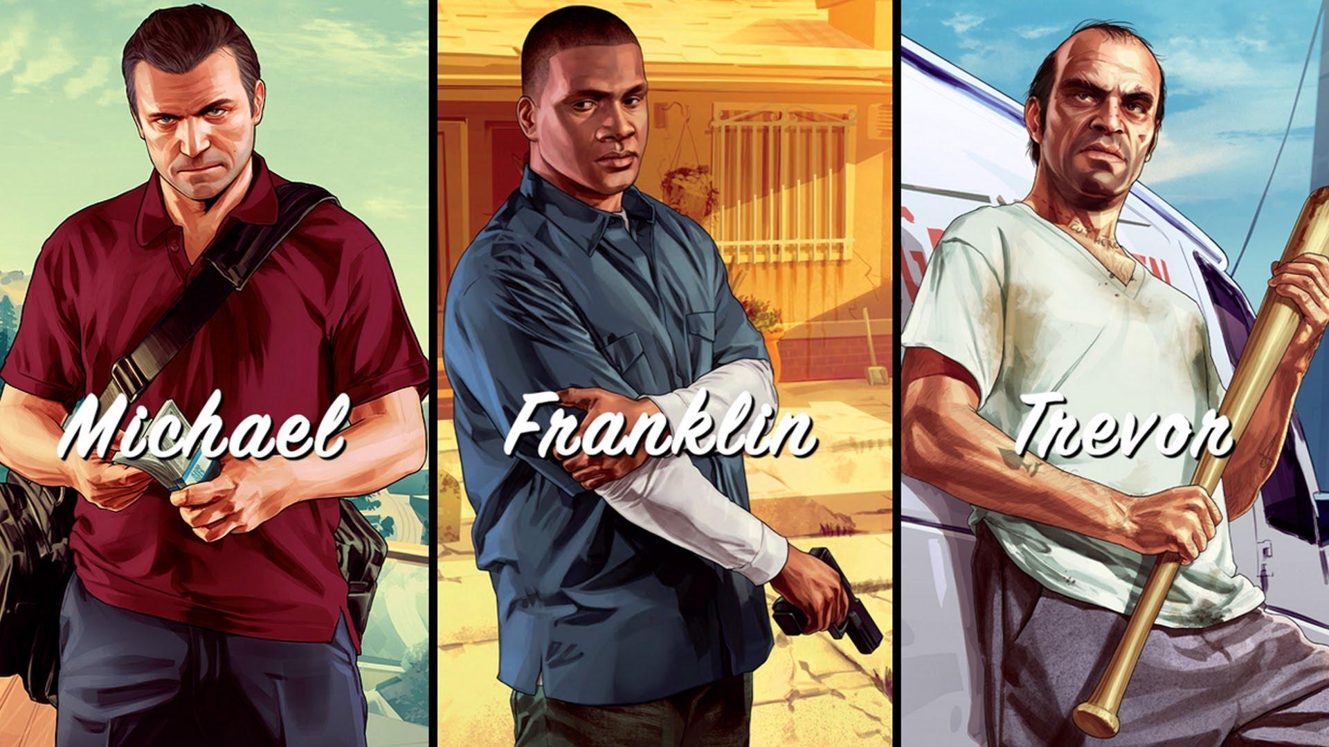 GTA V - Michael, Franklin e Trevor