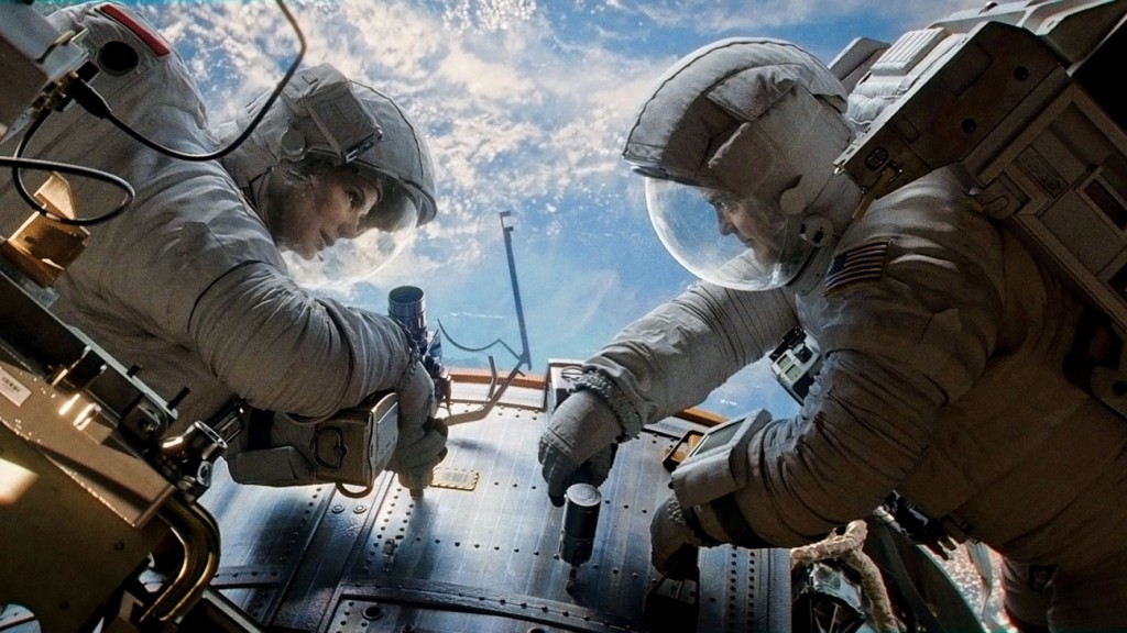 Gravity - Sandra Bullock e George Clooney