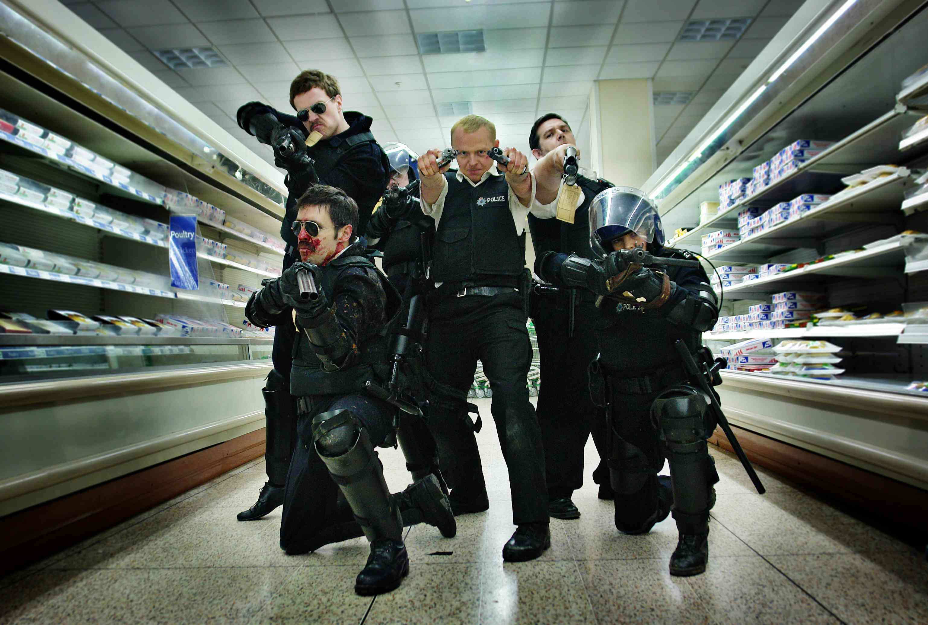 Hot Fuzz - Assalto al supermercato