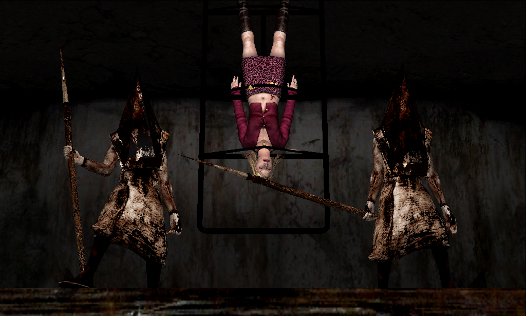 Pyramid Heads kill Maria