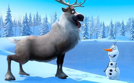 Frozen - Il Regno Di Ghiaccio - Olaf e Sven