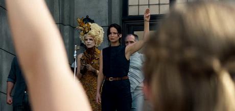 Hunger Games - La Ragazza Di Fuoco - Saluto