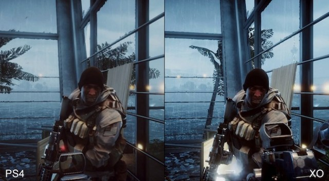 battlefield4 ps4 VS xboxone