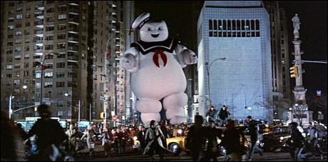 Ghostbusters - Omino di Marshmellow