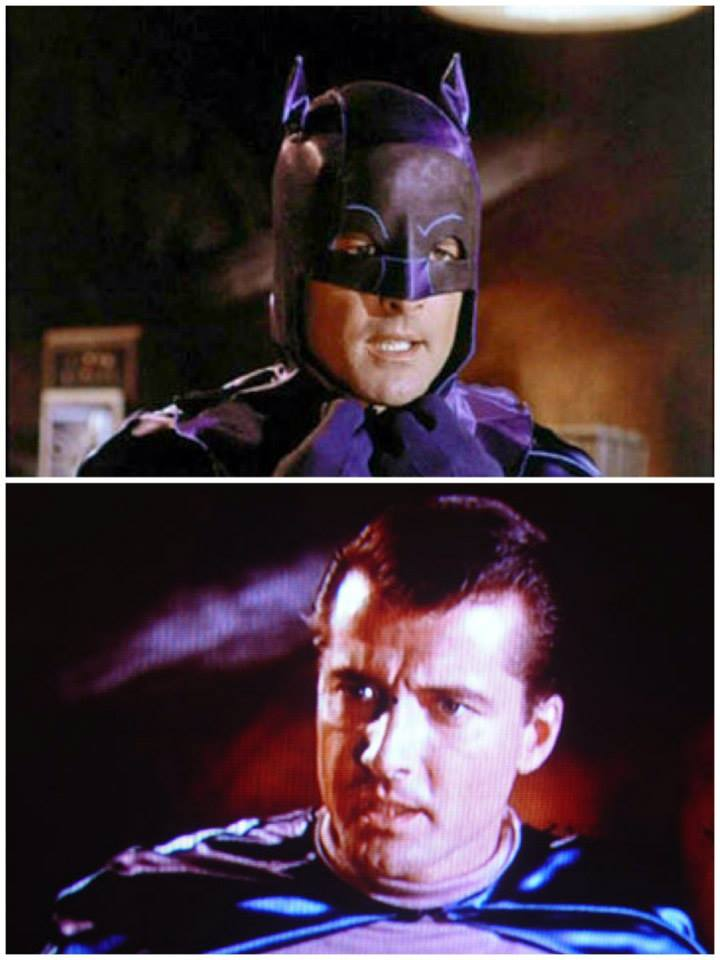 Lyle Waggoner screen test come Batman