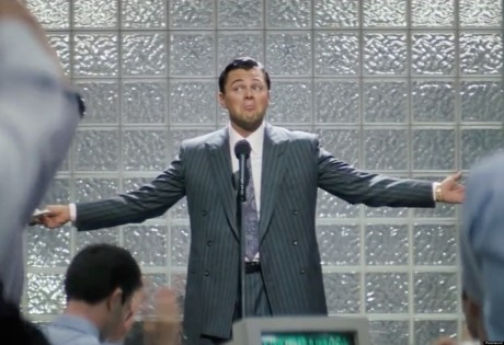 The Wolf Of Wall Street - Leonado DiCaprio