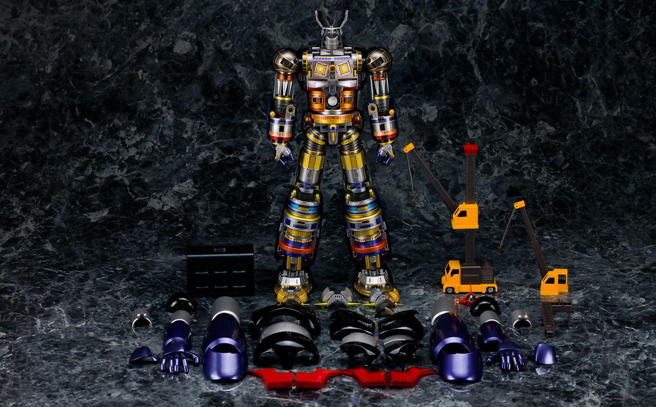 Soul of Chogokin - Mazinger Z DX - smontato