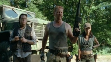 The Walking Dead 4 - Rosita, Eugene e Abraham