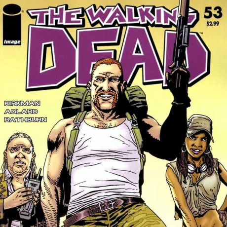The Walking Dead - Rosita, Eugene e Abraham fumetto