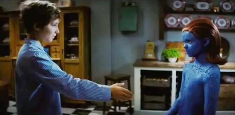 Charles Xavier e Mystica in X-Men - L'Inizio