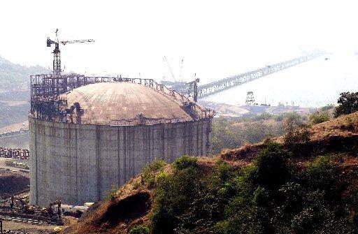 Impianto elettrico Enron in India