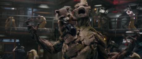 Guardiani Della Galassia - Rocket e Groot