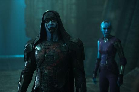 Guardiani Della Galassia - Ronan e Nebula