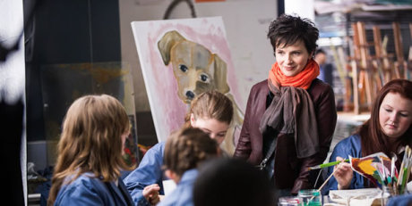 Words And Pictures - Juliette Binoche