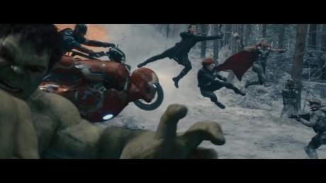 Avengers - Age Of Ultron - Pose Plastiche