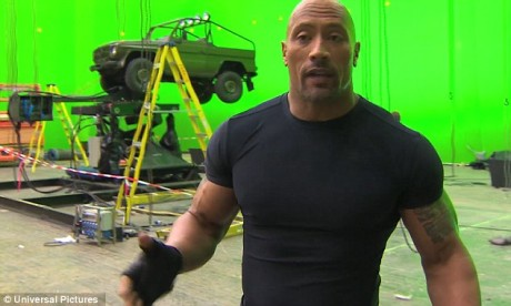 Fast And Furious 7 - Dwayne The Rock Johnson