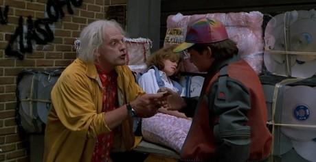 Ritorno Al Futuro - Parte II - Marty e Doc
