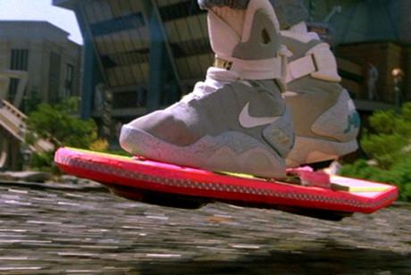 Ritorno Al Futuro - Parte II - Nike Air Mag e Hoverboard