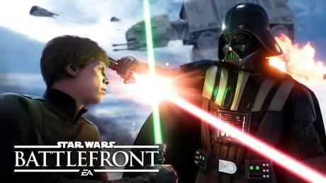 Star Wars Battlefront - Luke e Darth Vader