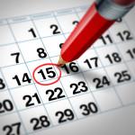 Un calendario per gli appuntamenti e gli incontri… e per domarli tutti, già che ci siamo.