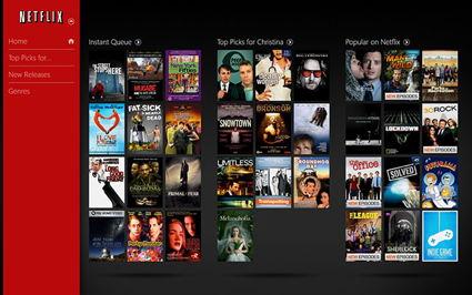 Netflix Menù