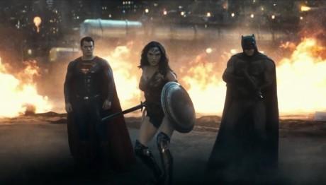 Batman V Superman Dawn Of Justice - Superman, Wonder Woman e Batman